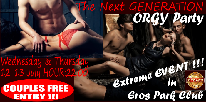 ORGY PARTY ENGLEZA NOU