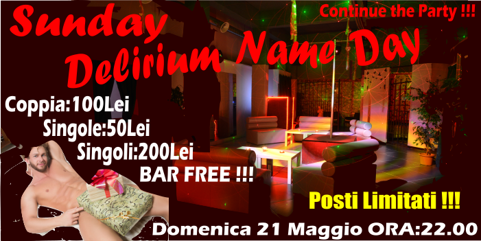 SUNDAY DELIRIUM ITALIANA