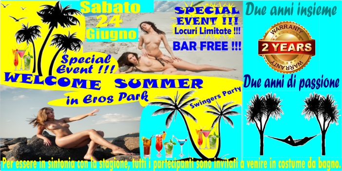 WELCOME SUMMER ITALIANA nou
